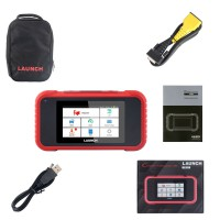 Launch X431 CRP129E OBD2 ENG ABS SRS AT Diagnostic Oil/Brake/SAS/TMPS/ETS reset Creader 129E OBDII Code Reader Scanner (US Ship No Tax)