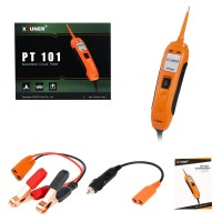 XTUNER PT101 12V/24V Power Probe Circuit Tester DC/AC Electrical System Diagnostic Tool Voltage Current Test Car battery Tester
