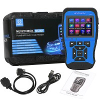 (US Ship No Tax) HUMZOR NexzCheck NC501 Universal OBD2 & EOBD Code Reader Scanner with 18 functions for universal vehicles