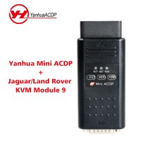 Yanhua Mini ACDP Master with Module 9 Jaguar Land Rover Key Programming Support KVM from 2014-2018 Add Key & All Key Lost