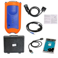 Service Advisor EDL V2 Electronic Data Link Truck Diagnostic Kit for John Deere with Free Software 4.0AG, 4.0 CCE, 2.8 CF