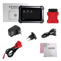 XTOOL EZ300 PRO With 5 Systems Diagnosis Engine,ABS,SRS,Transmission and TPMS Tablet Diagnosis Tool 2 Years Free Update