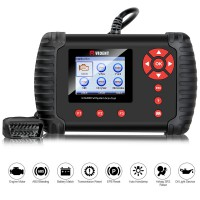 (US Ship No Tax) Vident iLink400 Chrysler Dodge Jeep Vident Scan Tool Full System Diagnostic Scanner Update Online