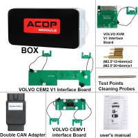 Yanhua Mini ACDP Volvo IMMO Programming Module 12 Support Add Key and All Key Lost