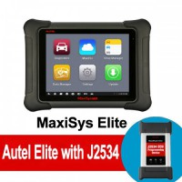 (Special Offer) 100% Original Autel MaxiSys Elite with Wifi/Bluetooth OBD Full Diagnostic Scanner with J2534 ECU Programming Update Online