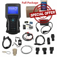 (Special Offer) 2019 Vetronix GM Tech 2 Clone Diagnostic Scanner For (GM/SAAB/OPEL/SUZUKI/ISUZU) with CANDI and tis2000 usbkey Tech2 Full Packing