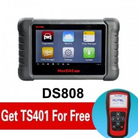 100% Original AUTEL MaxiDAS DS808 Full Set Get Free Autel MaxiTPMS® TS401 Shipping From USA