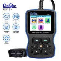 New V8.0 Creator C310+ Airbag/ABS/SRS Code Reader for BMW Online Update (US/UK Ship No Tax)