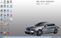 V2019.12 SSD BMW ICOM ISTA 4.20.31 ISTA-P 3.67.0.000 500G Windows 7 Run Faster