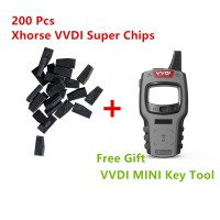 Buy 200 Pcs Xhorse VVDI Super Chips Free Sent One VVDI Mini Key Tool