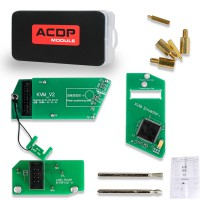 (3.18 Big Sale) Yanhua Mini ACDP Jaguar Land Rover KVM Key Programming Module Add Key & All Keys Lost 2015 Up