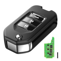 Hot XNHO00EN XN004 XHORSE VVDI2 for Honda Type Wireless Universal Remote Key 3 Button 5pcs/lot (wireless remote Key)