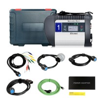 MB SD C4 Plus for Mercedes Benz Diagnostic Tool MB Star C4 Support DoIP Without Software HDD (UK Ship No Tax)