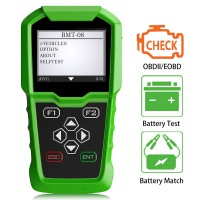Original Obdstar BMT-08 BMT08 12V/24V Automotive Battery Tester and Battery Matching Tool OBD2 Battery Configuration