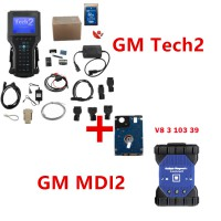 (Special Offer) GM Tech2 Plus GM MDI 2 with Software work for Old and New Gm Cars from 1991-2020 DHL Free Shipping