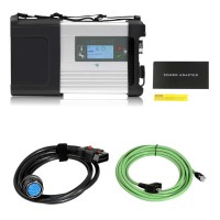 (Simplified version) MB SD C5 BENZ C5 DOIP Star Diagnosis with Wifi for Cars and Trucks in Carton Box No Software