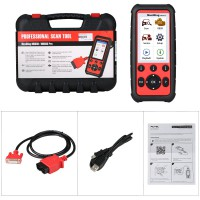 (UK/US Ship No Tax) Original Autel MaxiDiag MD808 Pro Full System Diagnostic Tool (MD802 ALL+MaxicheckPro) Free Ship