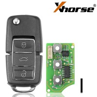 Hot Xhorse XKB506EN Wire Remote Key 3 Buttons for VVDI VVDI2 Key Tool 5pcs/lot (WIRE REMOTE Key)