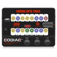 (US/UK Ship No Tax) 2021 GODIAG GT100 OBDII 16PIN Protocol Detector Breakout ECU Connector