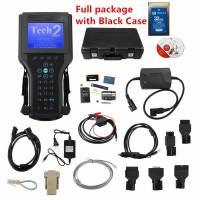 2021 Best Vetronix GM Tech 2 Tech2 Diagnostic Scanner for GM/SAAB/OPEL/SUZUKI/ISUZU with Candi + tis2000 Saab Tech II [Case Pack]