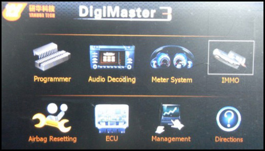 Digimaster 3 Main Function