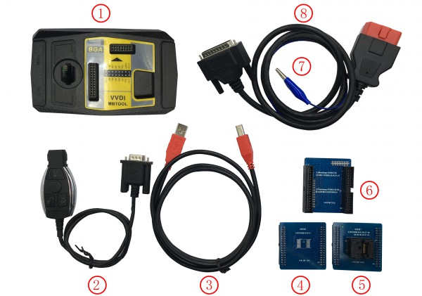 vvdi mb tool package list