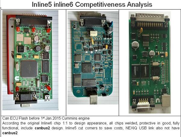 Cummins INLINE 5 INLINE 6 competitiveness analysis