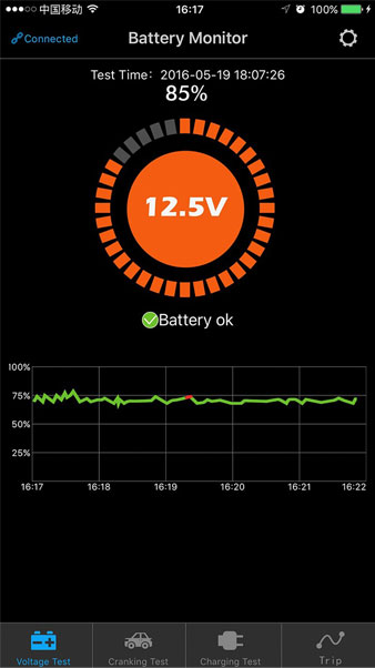 Battery Monitor BM2 test