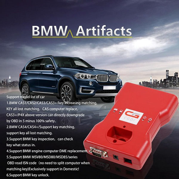 cgdi pro bmw msv80 support model list of car
