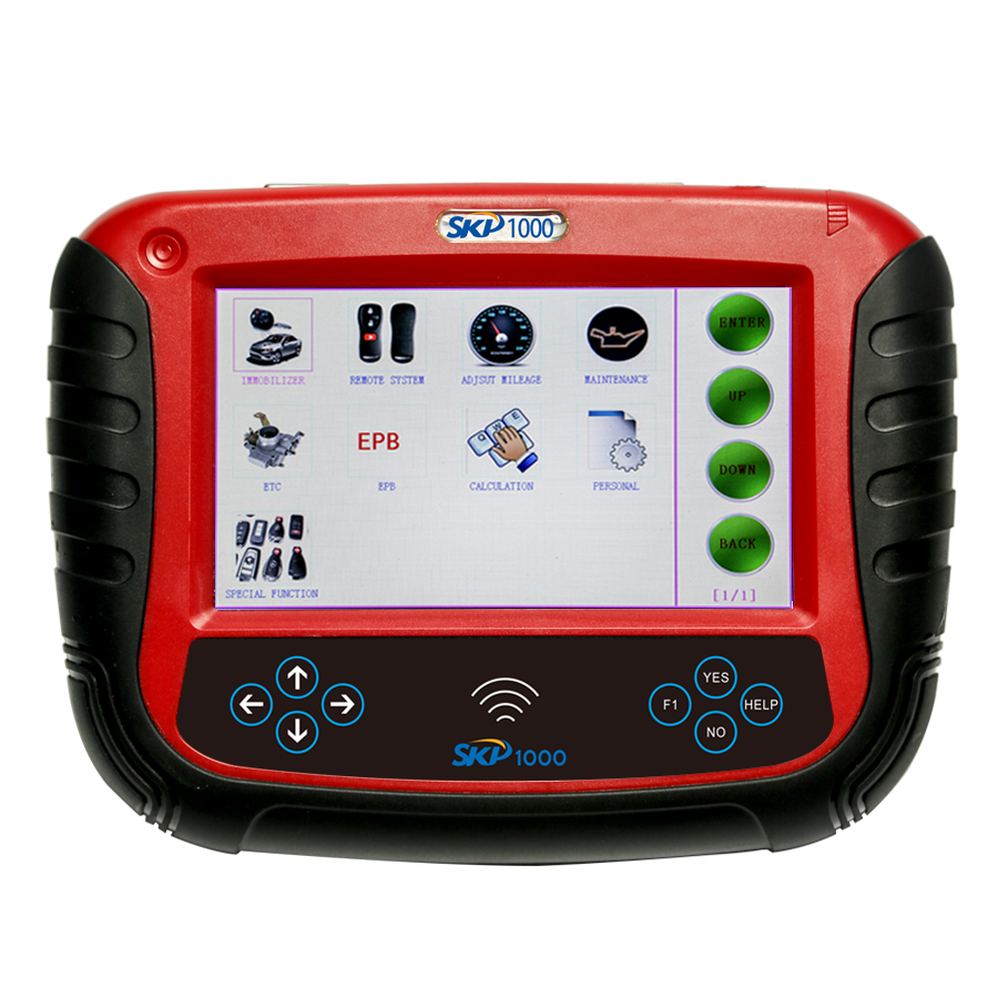 skp1000 key programmer car list