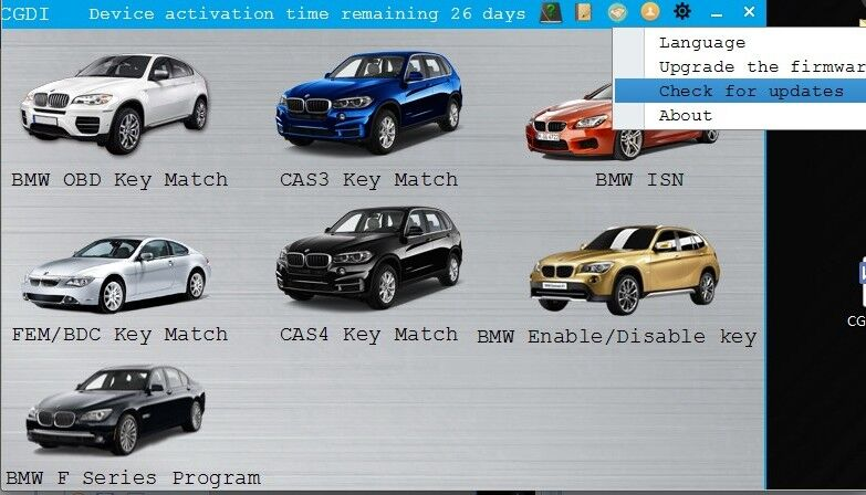 CGDI Prog BMW MSV80 car list