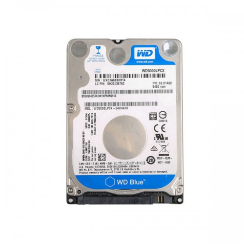 2TB Hard Drive with Full Brands Software Included for Toyota/Honda HDS/FORD/GM/VOLVO/JLR/VW/MAZDA/Benz/BMW