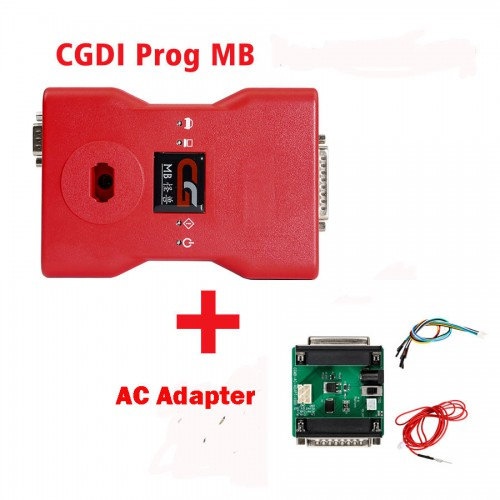 [7% OFF $677.97] CGDI Prog MB Benz Car Key Programmer plus AC Adapter for Quick Data Acquisition (UK Ship No Tax)