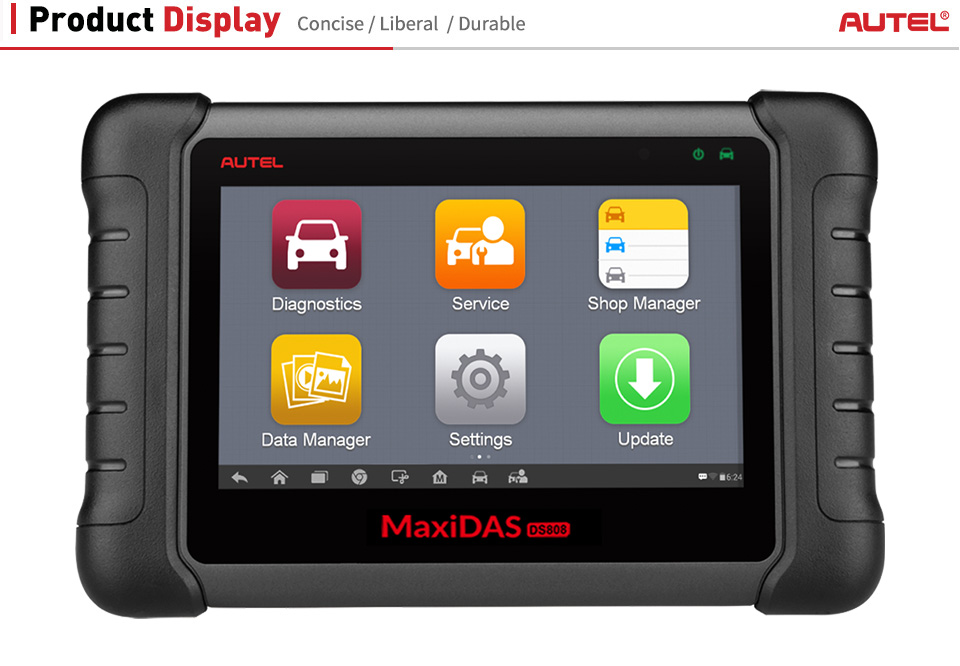 maxidas ds808k display