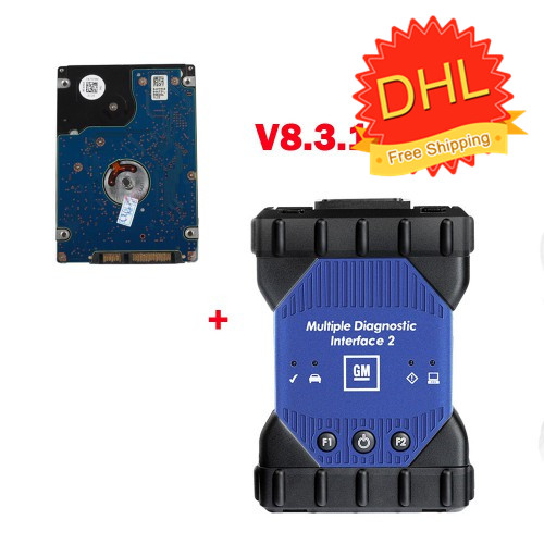 (Special Offer) V2019.7 WIFI GM MDI 2 Multiple Diagnostic Interface with GDS2 Tech2Win Software Sata HDD from 1996 to 2019 (DHL Free Ship)