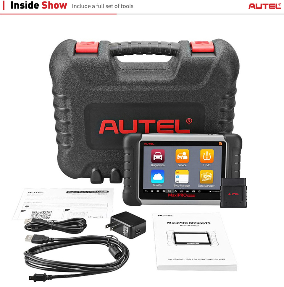 Autel MaxiPRO MP808TS full package