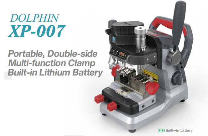 Xhorse Dolphin XP-007 Key Cutting Machine