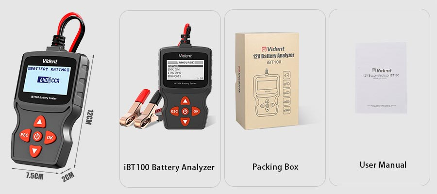 Vident iBT100 package