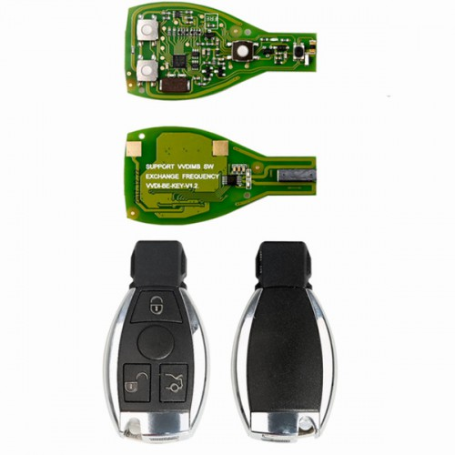 Xhorse VVDI BE Key Pro Improved Plus For Benz smart key shell 3 button