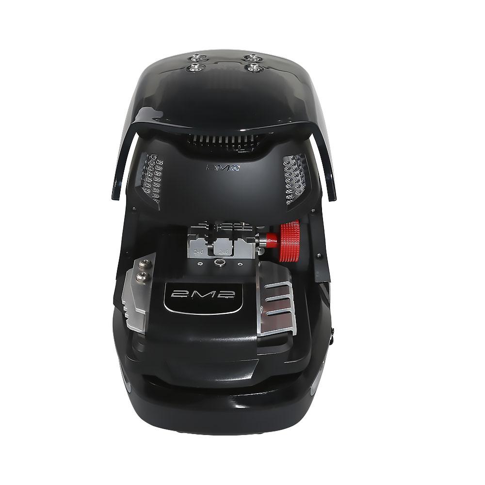 (6.18 Flash Sale) Newest 2M2 Magic Tank Automatic Car Key Cutting Machine With Battery Get Free Toyota Key Shell