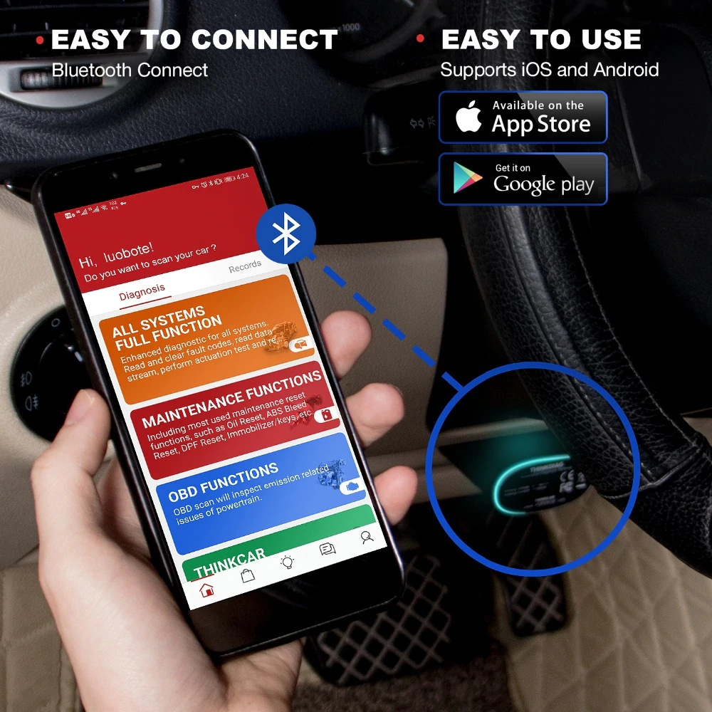 Launch thinkdiag bluetooth connect