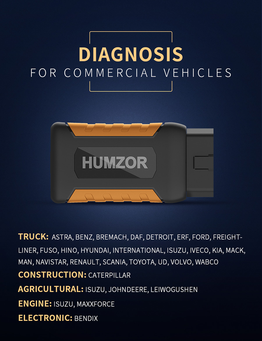 Humzor NexzDAS ND506 diagnosis