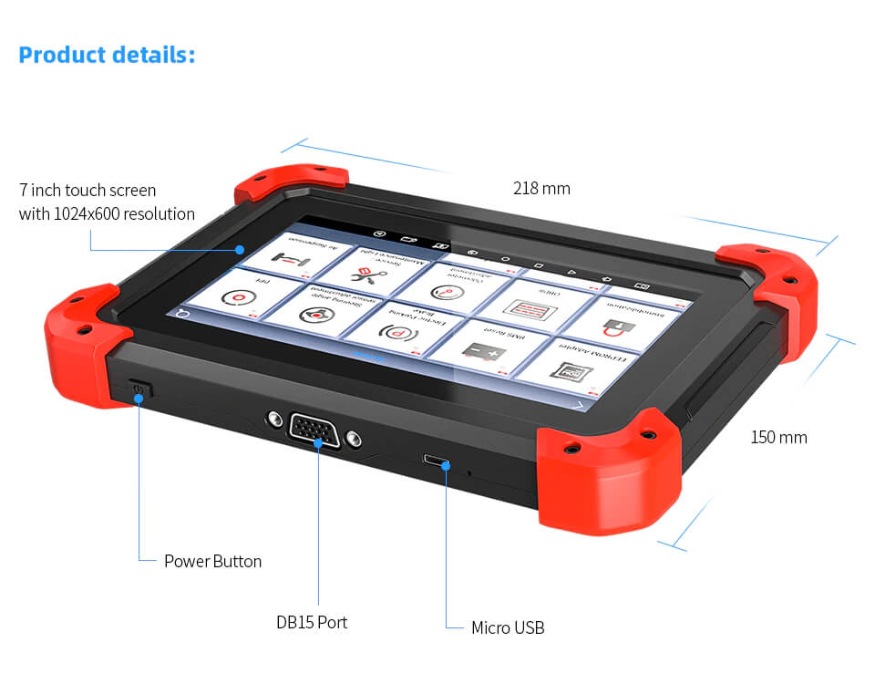 X100 PAD specification